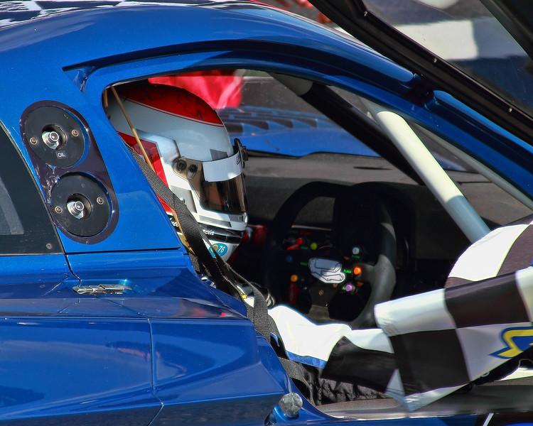Grand-Am Rolex Racing Spirit of Daytona Corvette DP Victory Lane after win Porsche 250