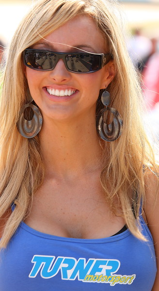 Turner Motorsport Girl Barber Motorsports Park