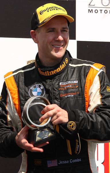 Jesse Combs Race Epic Murillo Racing on Podium Barber