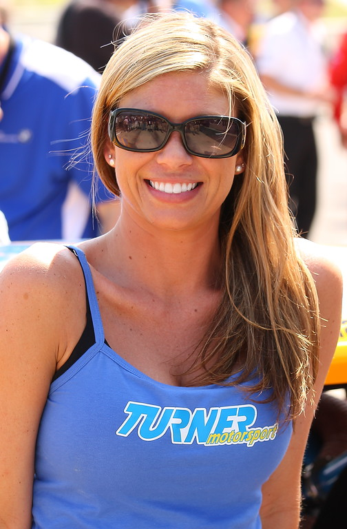 Turner Motorsport Girl Barber Motorsports Park Alabama