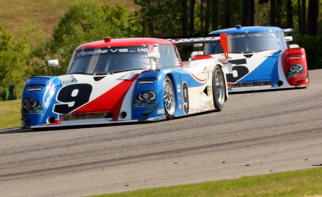 No. 9 and No. 5 Action Express Racing Daytona Prototypes Barber Motorsports Park