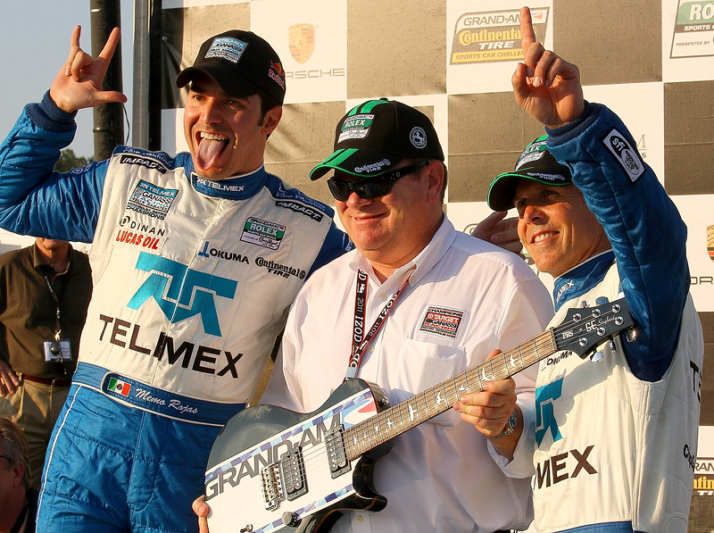 Memo Chip and Scott Celebrate Rolex Victory at Barber Motorsports Park