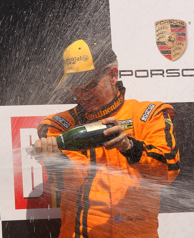 Joe Foster Podium Celebration Barber