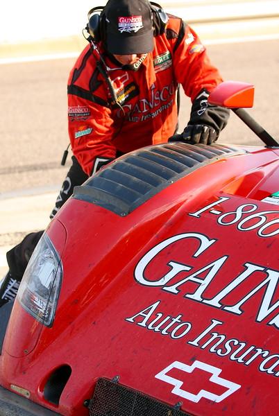 Gainsco Bob Stallings Racing Pit Stop Tire Change Barber