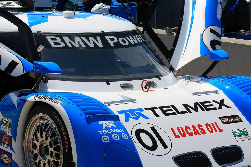 TelMex Chip Ganassi No. 01 Daytona Prototype Rolex Sports Car Barber Motorsports Park