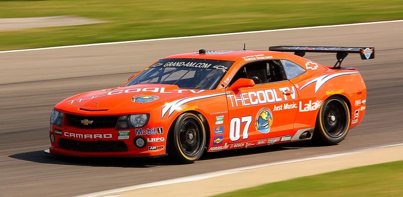No. 07 Banner Racing Grand Touring Car Barber Motorsports Park