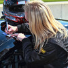 Grand-Am Continental Tire Challenge Race Driver Ashley McCalmont was a huge hit with Barber race fans
