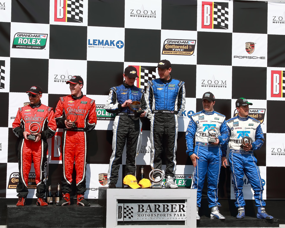 Podium Grand-Am Rolex Sports Car Series Porsche 250