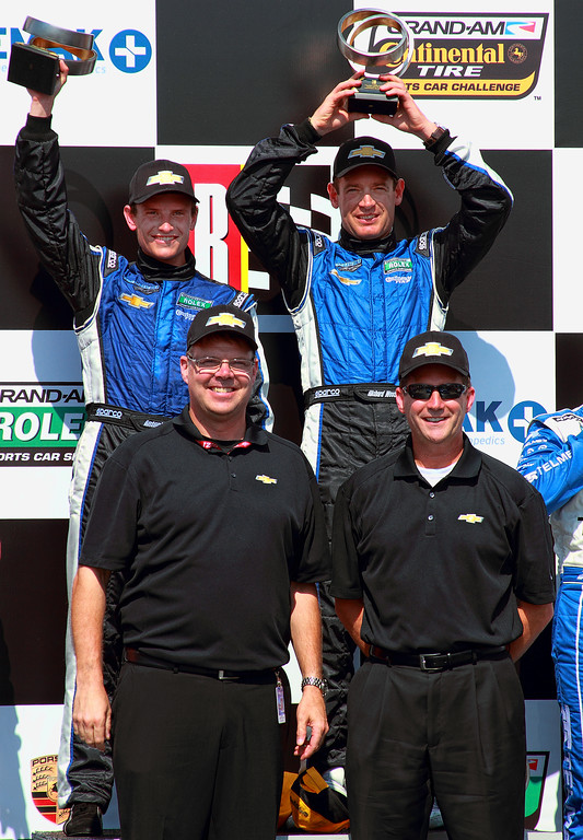 Spirit of Daytona Chevy Men Grand-Am Rolex Corvette DP Barber Podium