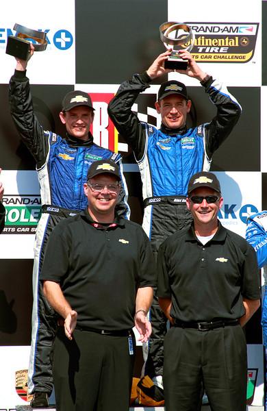 Grand-Am Rolex DP Spirit of Daytona Chevy Men on Podium