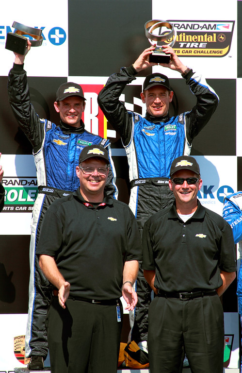 Grand-Am Rolex DP Spirit of Daytona Chevy Men on Podium