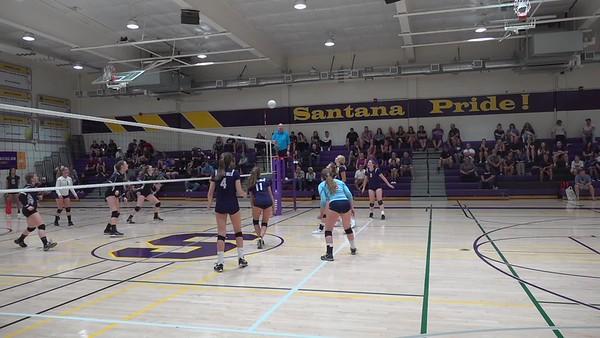 9-19-19 GHHS V vs Santana Gm 3
