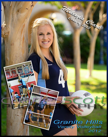 Makayla's 8x10 Sample Collage