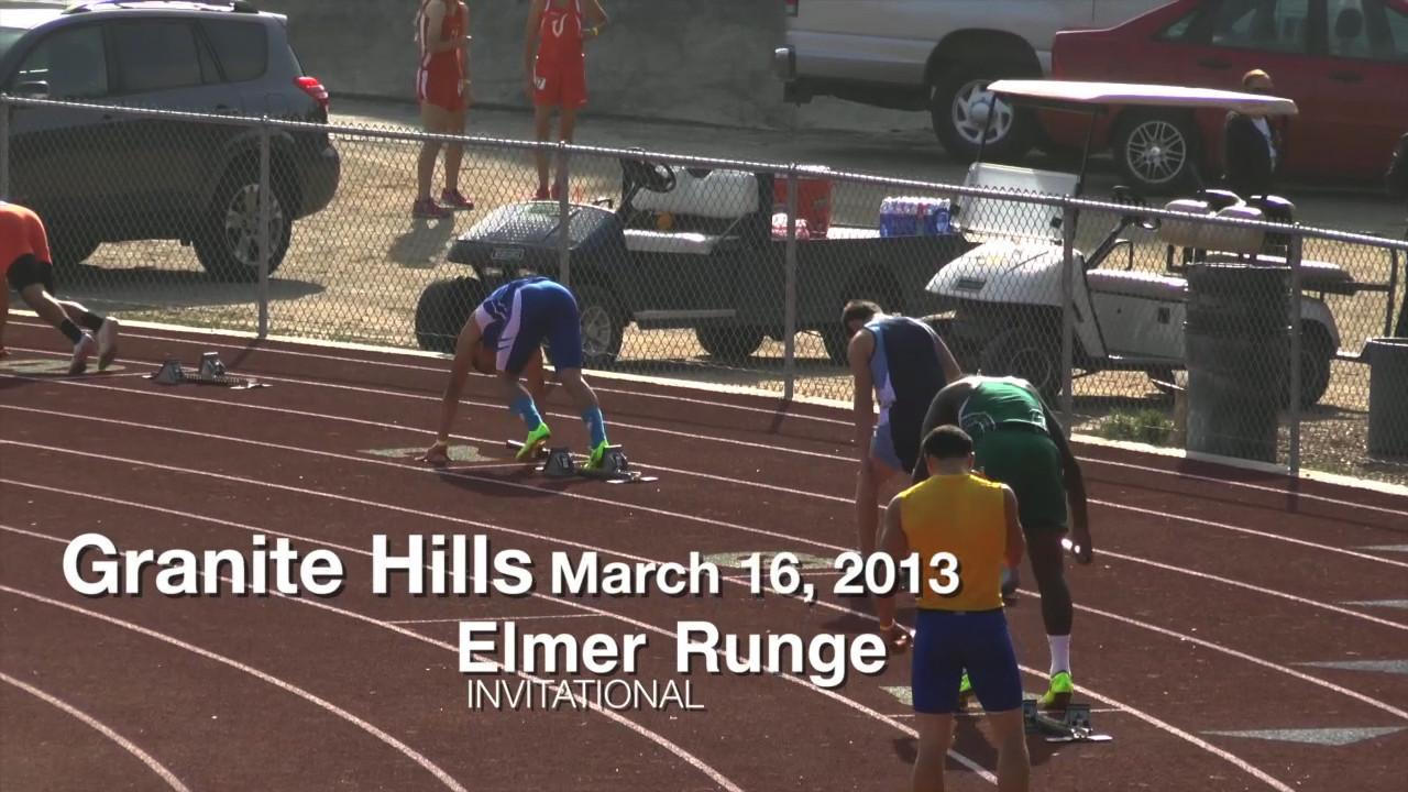 3-16-13 Elmer Runge