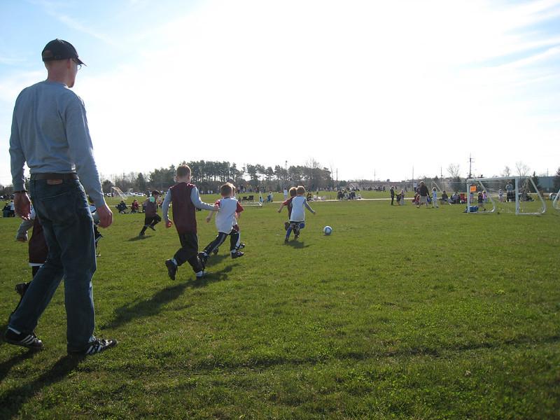Spring Soccer - April 17, 2009