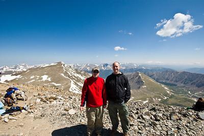 Grays & Torreys Climb 06/28/2008