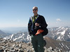 Me on my first successful 14'er hike up Grays & Torreys <br /> (photo by Nick Harris)
