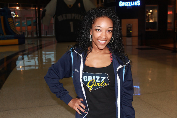 Grizz girls @ the Fed Ex Forum