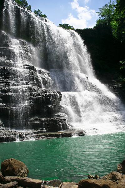 Burgess Falls close to Fall Creek Falls