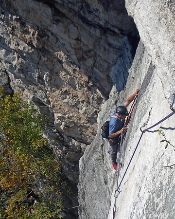 Gunks Climbing October 2011