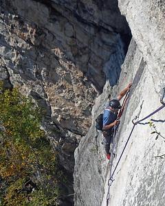 Gunks Climbing October 2011