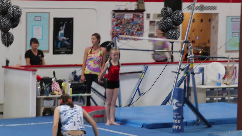 Allison - Bars Routine