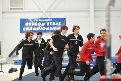 Oregon Mens Gymnastics Optionals State - 2009