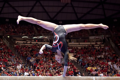 NCAA GYMNASTICS: FEB 24 Utah v Stanford