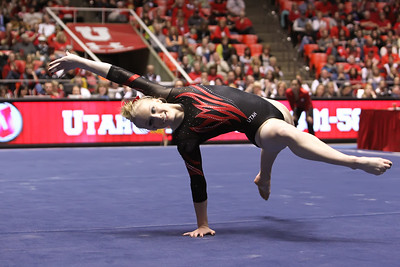 NCAA GYMNASTICS: MAR 09 Utah v Nebraska