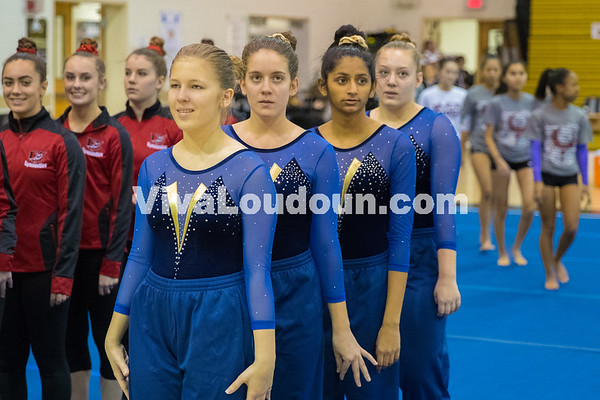 Gymnastics: Loudoun County at Freedom Meet 12.6.2016 (By Scudder)