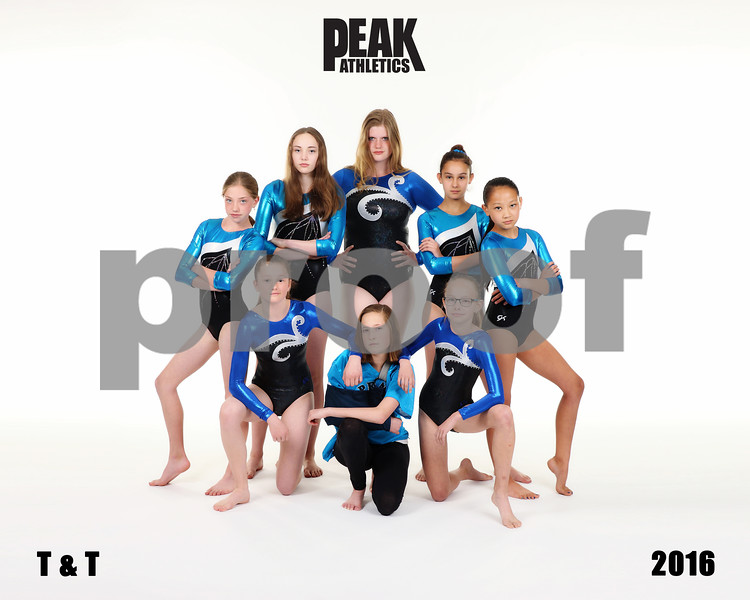 2016 Peak XCEL TEAM  TRAMP and TUMBLE