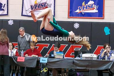 Gymnastics, Woodgrove, Dulles Districts