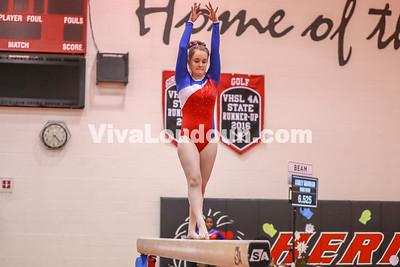 Gymnastics, Park View, Dulles Districts