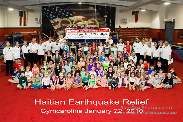 Haiti Earthquake Relief-Gymcarolina
