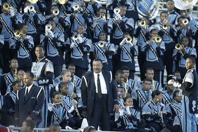 Dr. Lewis Liddell and the Jackson State University Sonic Boom of the South