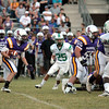2011 LOUISIANA HIGH SCHOOL FOOTBALL: Eunice @ Marksville. Marksville, running a variation on the Notre Dame Box, wins. :