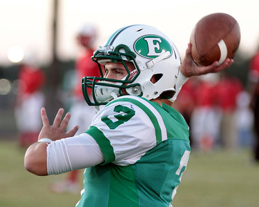 LOUISIANA HIGH SCHOOL FOOTBALL 2012: Eunice vs. Port Barre for Homecoming.  Eunice wins.