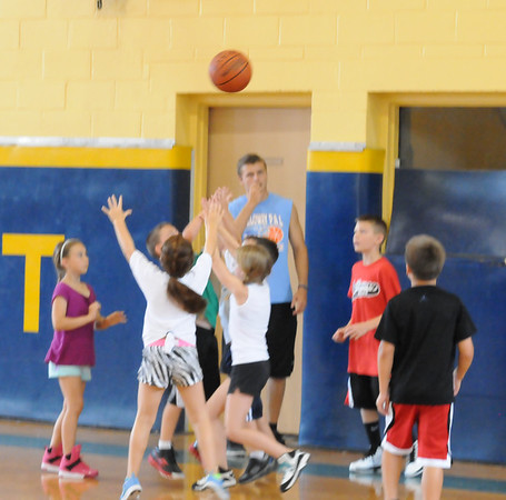 HOLY SPIRIT H.S. ABSECON NJ. , SUMMER BASKETBALL CAMP 07/10/13