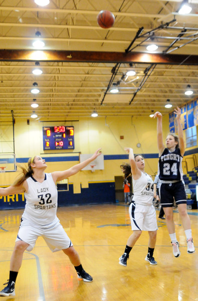 HOLY SPIRIT VS PINGRY, GIRLS BASKETBALL, ABSECON NJ. 02/26/13