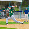 Nashoba starting pitcher Cam Roberts delivers during Saturday night's win over North MIddlesex. Nashoba Valley Voice/Ed Niser