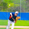 North Middlesex pitcher Rich Sharp fires to the plate.  Nashoba Valley Voice/Ed Niser