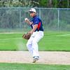 North Middlesex shortstop Brenden Sullivan prepares to throw to first. Nashoba Valley Voice/Ed Niser