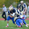 J.S.CARRAS/THE RECORD  Broadalbin-Perth against Cohoes during third quarter of Section II class B semi-final football action Saturday, November 2, 2013 at Cohoes High School in Cohoes, N.Y..