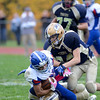 J.S.CARRAS/THE RECORD  Broadalbin Perth against Cohoes during second quarter of Section II class B semi-final football action Saturday, November 2, 2013 at CohoesHigh School in Cohoes, N.Y..