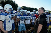 Hoosick Falls Football practice. Head coach Ron Jones. (Mike McMahon / The Record) 08/23/13