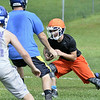 First day of high school football practice at LaSalle high school in Troy, Monday August 18, 2014 (MIKE McMAHON - mmcmahon@digitalfirstmedia.com)