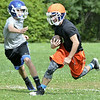 Stephen Jordan on First day of high school football practice at LaSalle high school in Troy, Monday August 18, 2014 (MIKE McMAHON - mmcmahon@digitalfirstmedia.com)