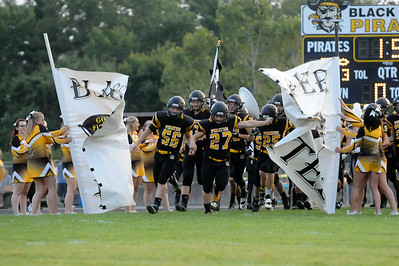 Black River takes the field Friday Night against Columbia. (JUDD SMERGLIA / GAZETTE)