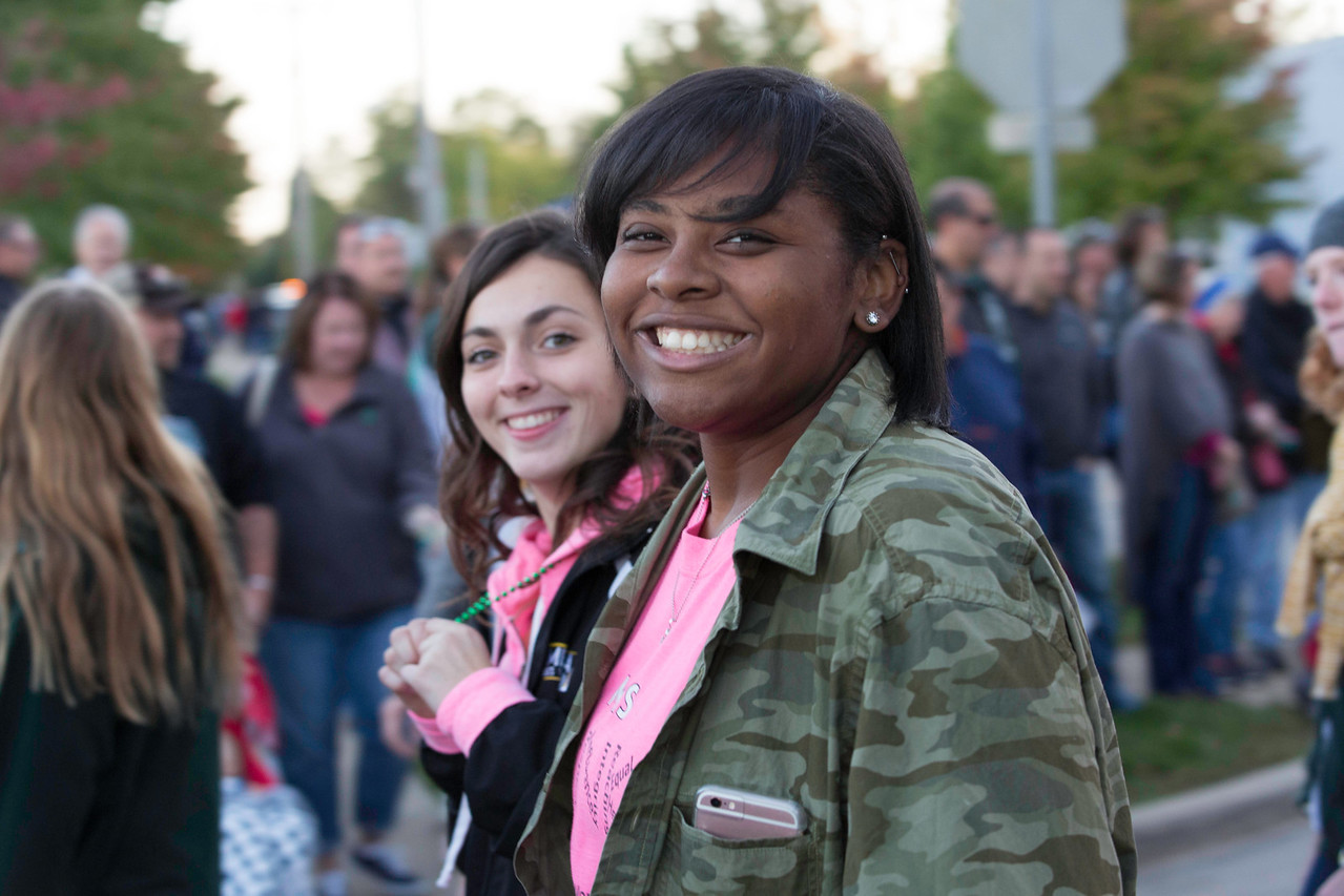 Spirit Night everyone came out in the pink for Breast Cancer Awareness Month.  FLETCHER BURCH / GAZETTE