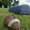 MIKE McMAHON - mmcmahon@digitalfirstmedia.com,  First day of high school football practice at LaSalle high school in Troy, Monday August 18, 2014